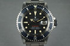1971 Rolex Red Submariner 1680 Mark IV Dial