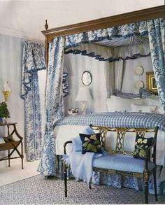 Vintage Victorian Inspired -Charming Cottage Bedroom