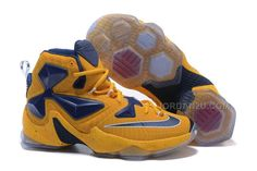 http://www.jordan2u.com/nike-lebron-13-yellow-navy.html NIKE LEBRON 13 YELLOW NAVY Only $65.00 , Free Shipping!
