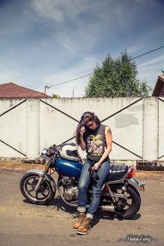 MotoLady — Photos from my shoot with Lanakila MacNaughton,...