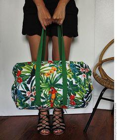 pour mes jolis mômes, mais pas que...: Le sac de voyage tropicool