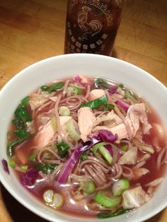 Asian Chicken Soup with Soba Noodles Recipe – The Lemon Bowl