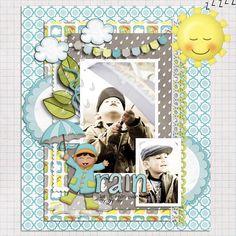 Rain, Rain by lliella designs  Available at Sweet Shoppe Designs.