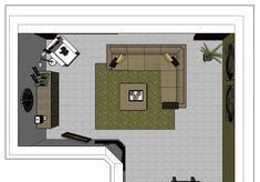Welke indeling van de woonkamer is goed? - Lifestylelady.nl Living Room Inspiration, First Home, Living Room Interior, Man Cave, Sweet Home, New Homes, Floor Plans, Layout, House