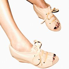 I freaking love these shoes! They're on fab.com today marked down to $243 from 517.  If only they were about 1/20th of that price....if only...