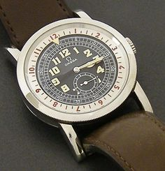 Omega Museum Collection 1938 Pilots stainless steel watch #watch