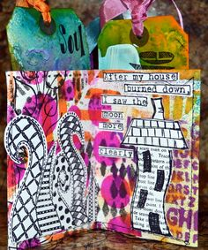 Dylusions Tag Book