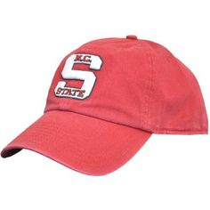 sports shoes 1f607 9e0da NC State Wolfpack Red 47  Brand Old Block S Fitted Franchise Hat