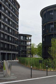 Wohnen am Schaffhauserrheinweg.. Gebaut von: jessenvollenweider architekten.
