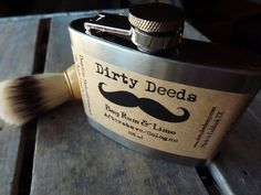 Mens Dirty Deeds Aftershave by Dirty Deeds Soaps - Etsy