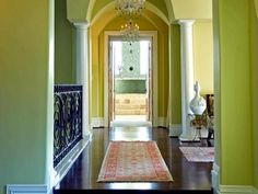 20 Interior Design Ideas For Beautiful Color Scheme In The Hallway