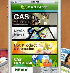 C.A.S Paper iPhone Application