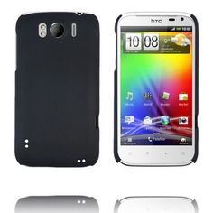 Hard Shell (Sort) HTC Sensation XL Deksel