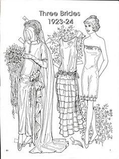 Three Brides 1923-24 Paper Dolls by Charles Ventura - Nena bonecas de papel - Picasa Web Albums