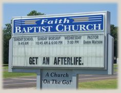 Image detail for -Church Sign Epic Fails, Hangover Edition Church Sign Sayings, Funny Church Signs, Church Humor, Funny Signs, Hilarious Sayings, Hilarious Animals, 9gag Funny, Funny Animal, Sign O' The Times