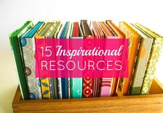 Inspirational Resources: Books, Blogs, Music + More
