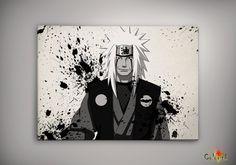 Naruto Shippuuden Jiraiya Watercolor Print 8x10 Archival Print - Art Print - Wall Decor Art Poster- Anime Print- Manga -Cartoon on Etsy, 62,25 zł