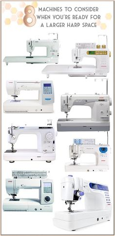 8 sewing machines to consider when you're ready for something larger