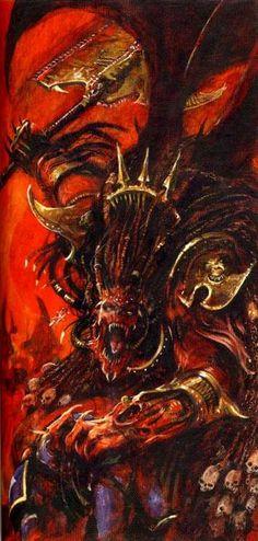 Angron, Daemon Prince of Khorne.