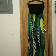 Spotted while shopping on Poshmark: Strapless maxi dress! #poshmark #fashion #shopping #style #Forever 21 #Dresses & Skirts