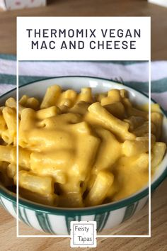 Thermomix Vegan Mac And Cheese Feisty Tapas Recipe In 2020 Mac And Cheese Vegan Mac And Cheese Thermomix Recipes