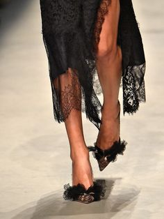 T plucks the best shoes right off the runway.