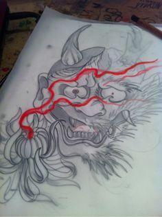 Japanese Oni Hannya Mask Tattoo | Japanese Tattoo Designs Mask Hannya Tattoos Oni Page 2