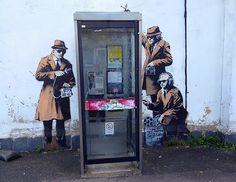 Banksy in Cheltenham? by KathrynW1, via Flickr