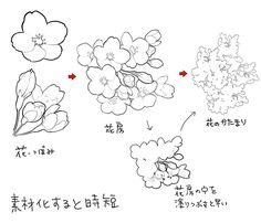 100 件 花の描き方 おすすめの画像 花 描き方 花 イラスト 花