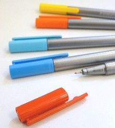 these pens can be left uncapped for days and still be ok. knowing my habits, this would be perfect