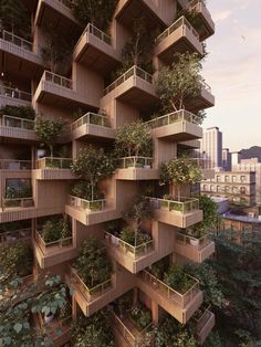 Gallery of Penda Designs Modular Timber Tower Inspired by Habitat 67 for Toronto - 11
