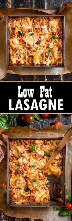 Low Fat #Lasagne - Delicious #Recipe