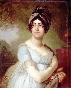Дарья Семеновна Баратова (177. - 1843), из древнего княжеского грузинского рода. Муж- богатейший заводчика Николай Михайлович Яковлев (1761-1813). Дарья Семеновна имела 5детей
