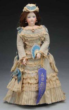 Gesland Francois Gaultier F.G. Poupee French Fashion Doll Stockinette body
