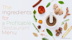 The Ingredients For a Profitable Restaurant Menu Restaurant Menu Design, Restaurant Recipes, Food Cost, Portion Control, Menu Items, Great Restaurants, Cooking Oil, The Dish, A Food