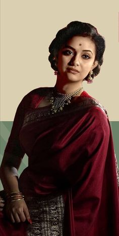 Most Beautiful Indian Actress, Beautiful Actresses, Cotton Saree Designs, Dress Neck Designs, Classic Beauty, Classic Style, Braids For Long Hair, Saree Dress, Indian Beauty Saree