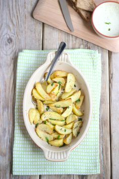 Parmezaanse aardappeltjes - Lekker en Simpel