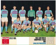 West Ham team group in 1965.