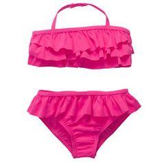 2-Piece Pink Ruffle Bikini.... Love it!!!