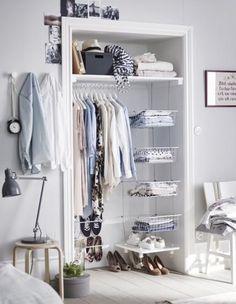 Mas espacio en mi armario | Decorar tu casa es facilisimo.com
