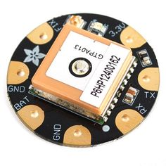 Adafruit FLORA Wearable Ultimate GPS Module - This module is the best way to add a GPS to your wearable project. It's part of the Adafruit Flora series of wearable electronics, designed specifically for use with the Flora motherboard. Smart Textiles, E Textiles, Raspberry Pi Projects, Wearable Technology, Diy Electronics, Electronic Art, Pattern Drafting, Arduino, Sewing Crafts