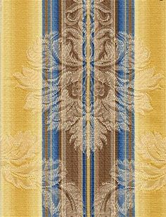 Jericho+Golden+Spa+Stripe+Fabric Drapery Fabric, Fabric Decor, Striped