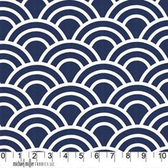 Trenna Travis - Bekko - Swell in Navy, so many gorgeous home dec weight fabrics in this collection, perfect for mixing and matching patterns and colors for pillows