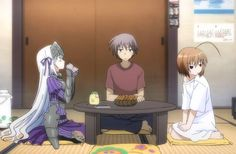 Is This a Zombie? - (Sub) Yes, I'm a Magical Garment Girl Anime Reviews, Anime Shows, Hetalia, Manga Anime, Fangirl, Disney Characters, Fictional Characters, Drawings, Image