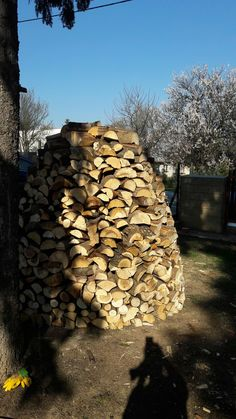 Dřevěný slamník