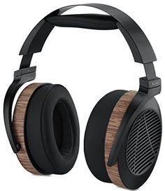 Audeze - Open Back Planar Magnetic Headphones with In-Line Mic and Control Cable for iPhone/iPod/iPad - Pro-Grade Sound Quality Plus Maximum Comfort - Made in USA Open Back Headphones, Wireless Headphones For Running, Waterproof Headphones, Best Headphones, Audiophile Headphones, Gaming Headset, Bluetooth Headphones, Audio Design, Ipad Pro