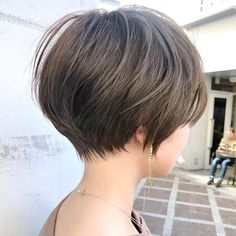 Pin on 髪型 Short Hair Syles, Short Hair Lengths, Girl Short Hair, Short Hair Cuts, Short Hairstyles Fine, Hairstyles Haircuts, Cool Hairstyles, Japanese Short Hair, Japanese Haircut