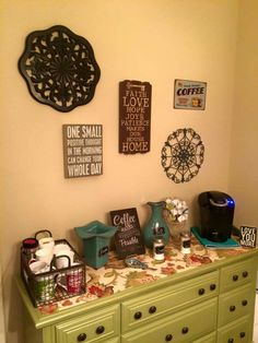 Completed Coffee Bar