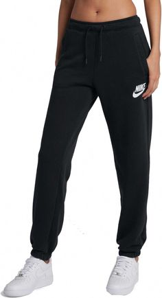 Nike Women's Sportswear Loose Rally Sweatpants, Size: Small, Black Source by Teenager Outfits, Teenage Girl Outfits, Teen Fashion Outfits, Outfits For Teens, Tween Girls, School Outfits, Fashion Dresses, Cute Lazy Outfits, Trendy Outfits