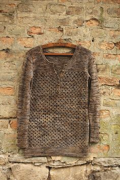 Ravelry: Timeless Henley pattern by Joji Locatelli